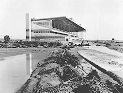 Centennial Race Track 1965 after the flood