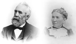 Portrait of Lewis and Laura Ames
