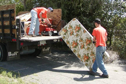Summer Cleanup Team will pick up old mattresses, lawn mowers, etc.