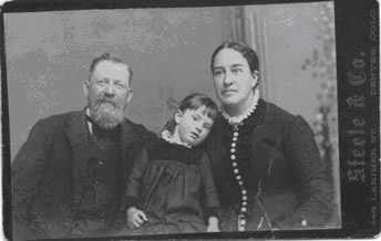 Edward, Anna, and Edaline Chatfield 1886
