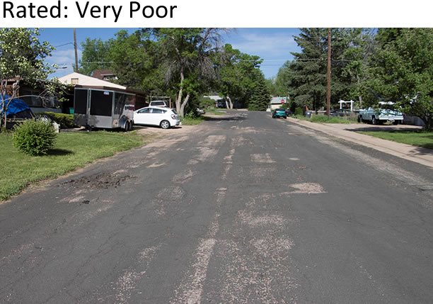 Street rating: very poor