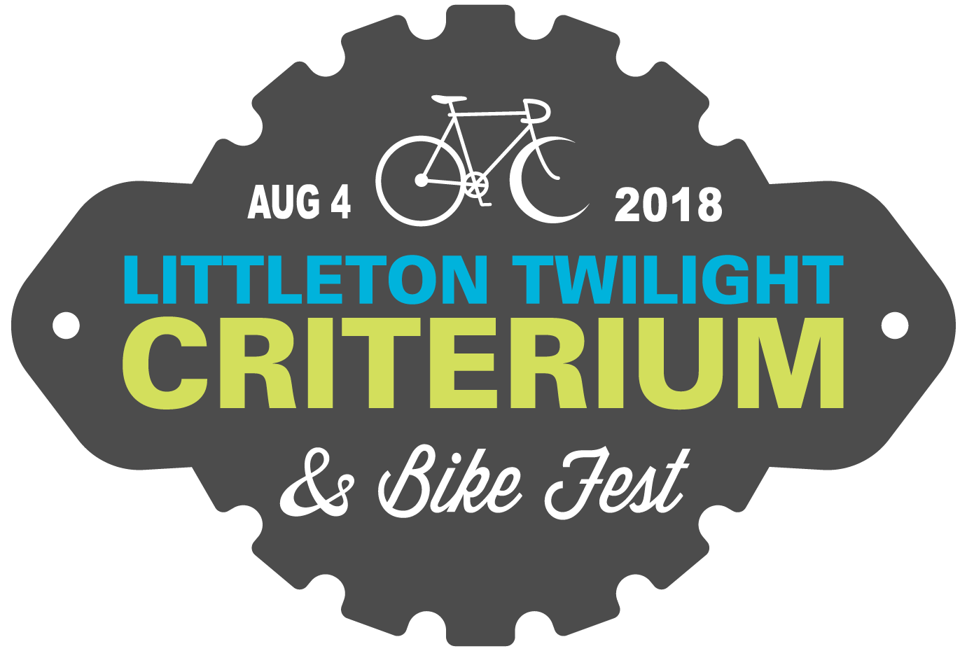 Littleton Twilight Criterium & Bike Fest badge