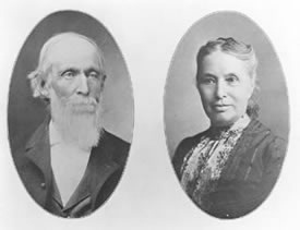 McBroom - Isaac & Emma 1904 on their 50th wedding anniversary