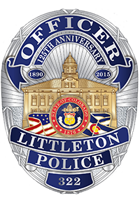 Littleton Police Department Badge