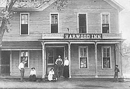The Harwood Inn, 1876-late 1880s. Later renamed Sunshine and Shadow