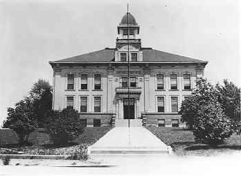 Arapahoe County Courthouse Early 1900s Front View