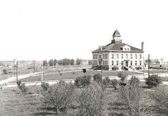 Arapahoe County Courthouse Early 1900s Distant View