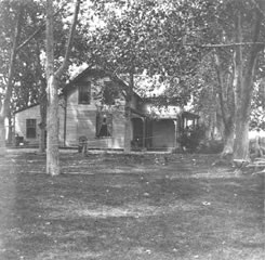 Prescott Home view from driveway 1904