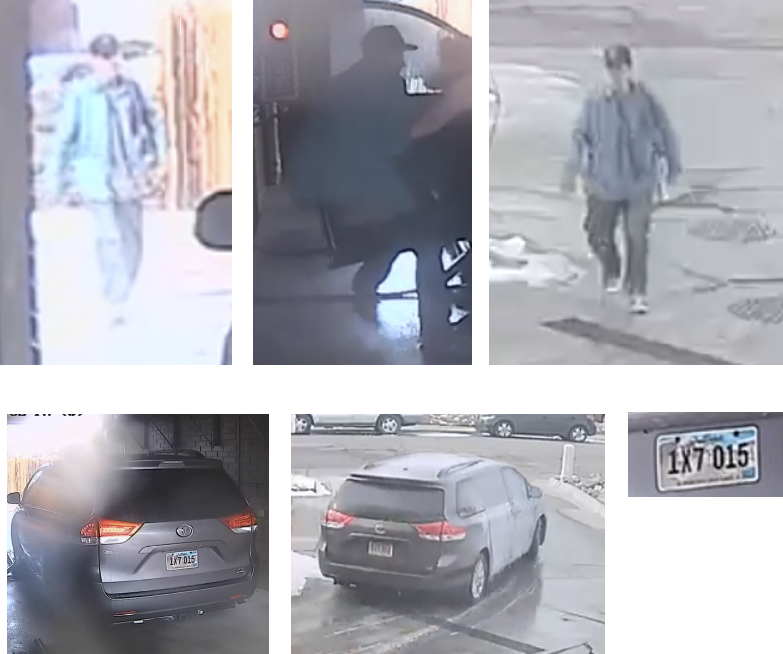 Images related to carjacking crime on 1/28/2021 at Atlantis Car Wash in Littleton