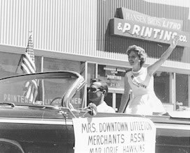 Western Welcome Week Parade, 1962