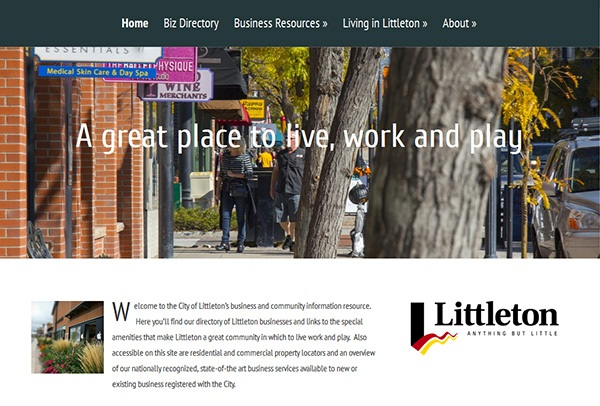 Littleton Econ Dev Website