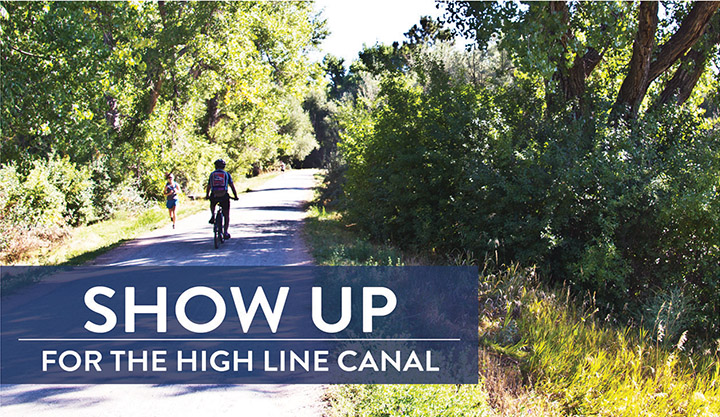 Highline Canal Open House Flyer